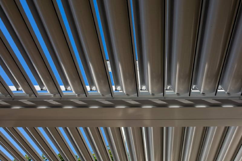 Residential Louvered Roofs